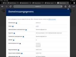 De start van tiemen.nl